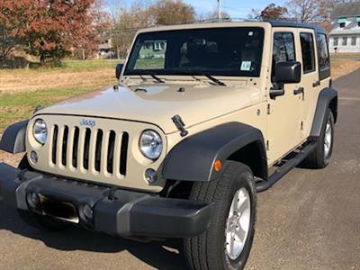 2017 Jeep Wrangler Unlimited lease in Mullica Hill,NJ - Swapalease.com