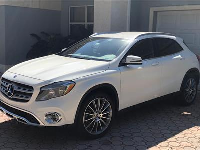 2018 Mercedes-Benz GLA SUV lease in Miami Lakes,FL - Swapalease.com