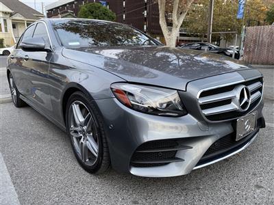 2018 Mercedes-Benz E-Class lease in Mountain View,CA - Swapalease.com