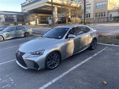 2019 Lexus IS 300 F Sport lease in Clifton,NJ - Swapalease.com
