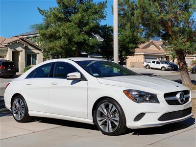 2018 Mercedes-Benz CLA Coupe lease in Fontana,CA - Swapalease.com