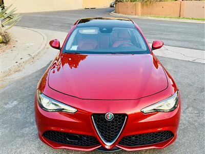 2018 Alfa Romeo Giulia lease in Glendale,CA - Swapalease.com