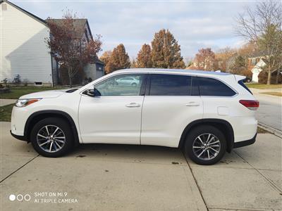 2018 Toyota Highlander lease in Hilliard,OH - Swapalease.com