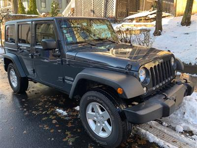 2017 Jeep Wrangler Unlimited lease in Marion,MA - Swapalease.com