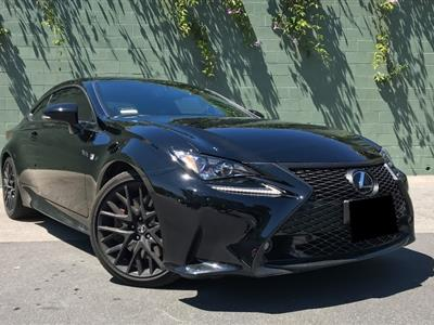2017 Lexus RC 350 F Sport lease in Sherman Oaks,CA - Swapalease.com