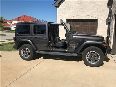 2018 Jeep Wrangler Unlimited lease in Frisco,TX - Swapalease.com