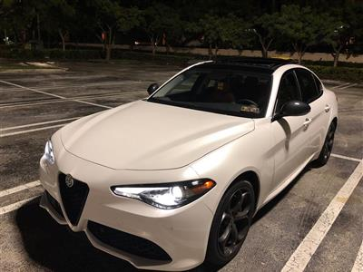 2018 Alfa Romeo Giulia lease in Miami,FL - Swapalease.com