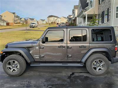 2019 Jeep Wrangler Unlimited lease in Jefferson Hills,PA - Swapalease.com