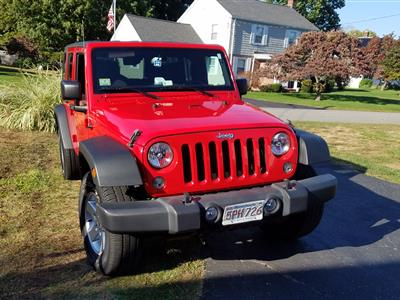 2017 Jeep Wrangler Unlimited lease in Framingham,MA - Swapalease.com