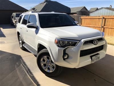 2018 Toyota 4Runner lease in Lubbock,TX - Swapalease.com