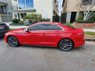 2019 Audi S5 Coupe lease in Valley Village,CA - Swapalease.com