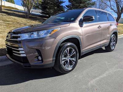 2019 Toyota Highlander lease in Platteville,CO - Swapalease.com