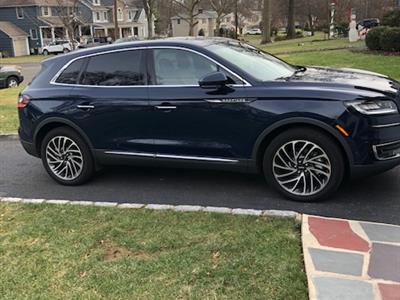 2019 Lincoln Nautilus lease in Westfield,NJ - Swapalease.com