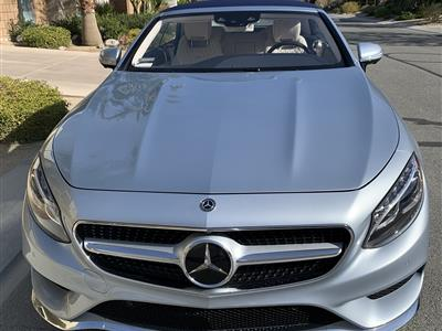 2019 Mercedes-Benz S-Class Cabriolet lease in Palm Springs,CA - Swapalease.com