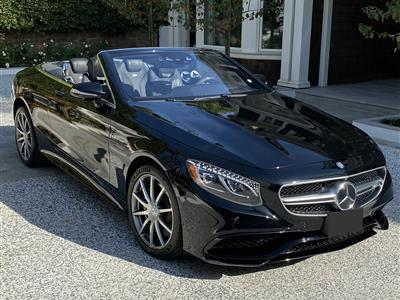 2017 Mercedes-Benz S-Class Cabriolet lease in Pacific Palisades,CA - Swapalease.com