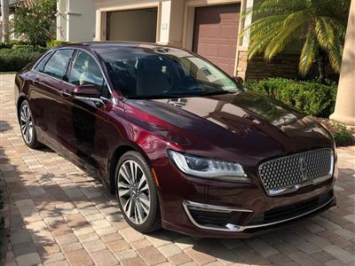 2017 Lincoln MKZ lease in Delray Beach,FL - Swapalease.com