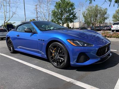 2018 Maserati GranTurismo Convertible lease in Burbank,CA - Swapalease.com