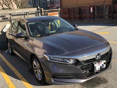2018 Honda Accord lease in San Francisco,CA - Swapalease.com