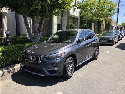 2018 BMW X1 lease in Santa Monica,CA - Swapalease.com