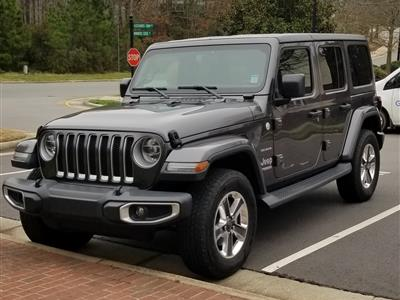 2018 Jeep Wrangler Unlimited lease in Raleigh,NC - Swapalease.com