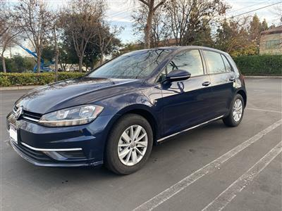 2018 Volkswagen Golf lease in Mountain View,CA - Swapalease.com