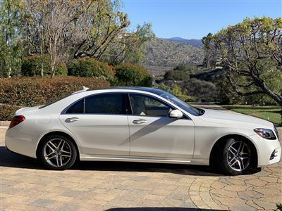 2018 Mercedes-Benz S-Class lease in Newport Beach,CA - Swapalease.com