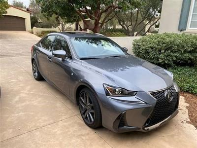 2017 Lexus IS 200t F Sport lease in San Diego,CA - Swapalease.com