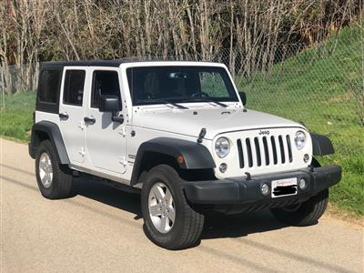 2018 Jeep Wrangler Unlimited lease in Los Angeles,CA - Swapalease.com