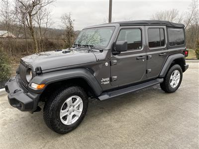 2018 Jeep Wrangler Unlimited lease in Loveland,OH - Swapalease.com
