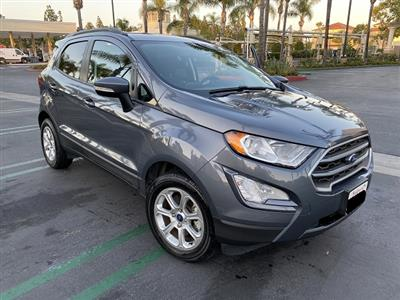 2018 Ford EcoSport lease in Irvine,CA - Swapalease.com