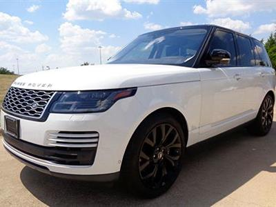 2019 Land Rover Range Rover lease in Towson ,MD - Swapalease.com