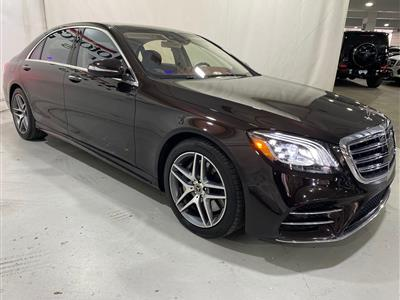 2018 Mercedes-Benz S-Class lease in Arlington,VA - Swapalease.com
