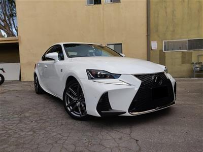 2018 Lexus IS 300 F Sport lease in Sherman Oaks,CA - Swapalease.com
