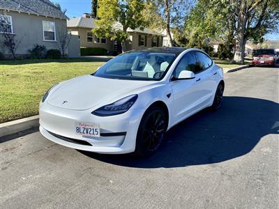 2019 Tesla Model 3 lease in Valley Village,CA - Swapalease.com