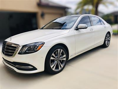 2018 Mercedes-Benz S-Class lease in Riverview,FL - Swapalease.com