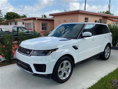 2018 Land Rover Range Rover Sport lease in Miami,FL - Swapalease.com