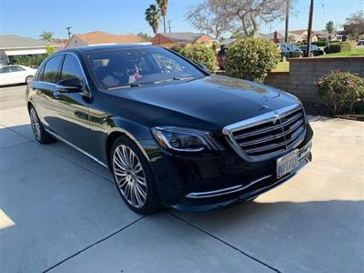 2018 Mercedes-Benz S-Class lease in Monterey Park,CA - Swapalease.com