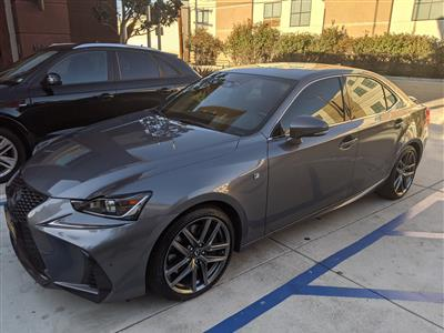 2018 Lexus IS 350 F Sport lease in Los Angeles,CA - Swapalease.com