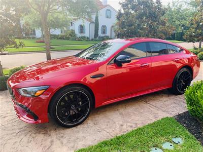2019 Mercedes-Benz AMG GT lease in Houston,TX - Swapalease.com
