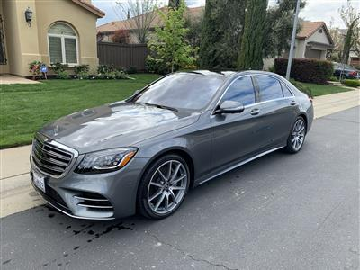 2018 Mercedes-Benz S-Class lease in Folsom,CA - Swapalease.com