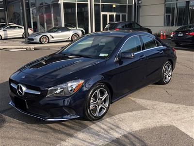 2018 Mercedes-Benz CLA Coupe lease in Shirley,NY - Swapalease.com