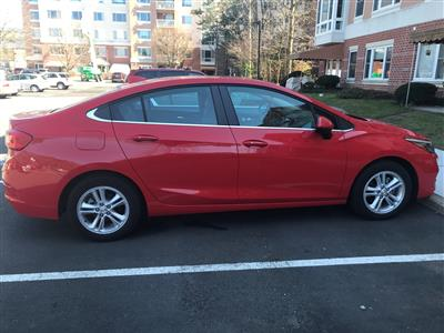 2018 Chevrolet Cruze lease in Tinton Falls,NJ - Swapalease.com