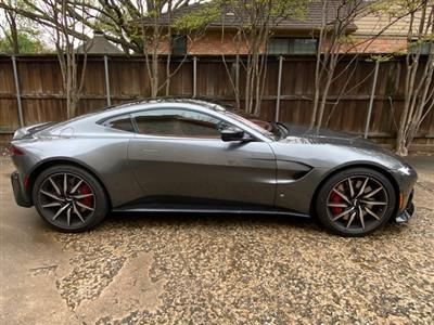 2019 Aston Martin Vantage lease in Dallas,TX - Swapalease.com