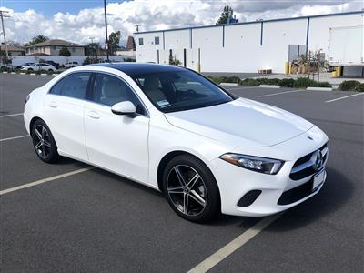 2019 Mercedes-Benz A-Class lease in Culver City,CA - Swapalease.com