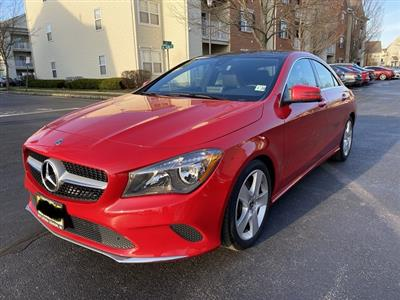 2018 Mercedes-Benz CLA Coupe lease in South Plainfield,NJ - Swapalease.com