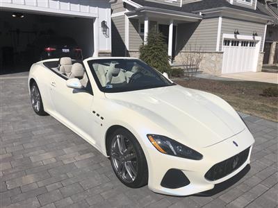 2018 Maserati GranTurismo Convertible lease in Western Springs,IL - Swapalease.com