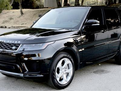 2018 Land Rover Range Rover Sport lease in Los Agneles,CA - Swapalease.com