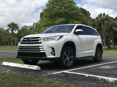 2018 Toyota Highlander lease in Ft. Lauderdale,FL - Swapalease.com