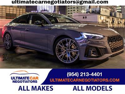 2020 Audi S5 Sportback lease in Fort Lauderdale,FL - Swapalease.com