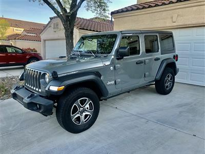 2018 Jeep Wrangler Unlimited lease in Henderson,NV - Swapalease.com